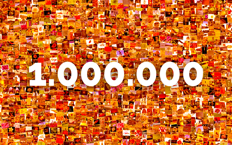 1. Million Fotos